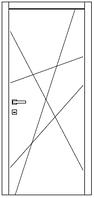 Межкомнатные двери Омис Cortex Геометрия 3