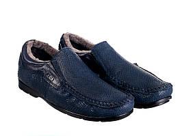 Мокасины Etor 14815-7383-5131 синие