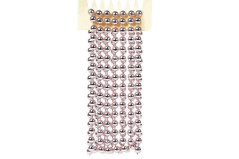 Бусы пластиковые Bonita 10 мм *2,7 м Розовый ( 147-213)