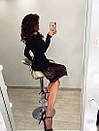 Платье футляр миди с открытыми плечами и отделкой из кружева 71plt260, фото 2