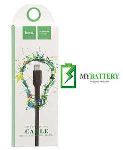 USB кабель Hoco U31 Benay iPhone (1000mm), черный