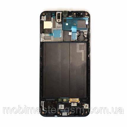 Дисплейный модуль Samsung A505 A50 black, фото 2