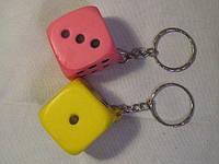"""Брелок для ключей каучуковый""""Кубик"""""""
