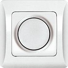 "ВСР10-1-0-ЛБ Светорегулятор для ламп накаливания 60-600Вт (белый) серия ""Лира"" (без рамки)"