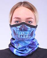 Термоактивный бафф SportZone Maska Blucz. Теплая лыжная маска.