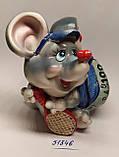 Копилка керамическая с символом 2020 года Крысы 10,5*10,5 см, фото 2