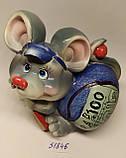 Копилка керамическая с символом 2020 года Крысы 10,5*10,5 см, фото 5