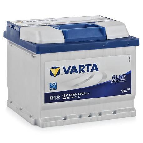 VARTA 6СТ-44 BLUE dynamic (B18) 544402044 Автомобильный аккумулятор, фото 2