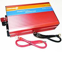 Инвертор / Преобразователь напряжения 12 - 220 В 2000W плавный пуск / Автоинвертор