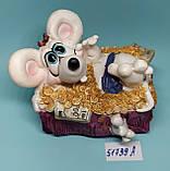 Копилка керамическая с символом 2020 года Крысы 7,5*9 см, фото 2