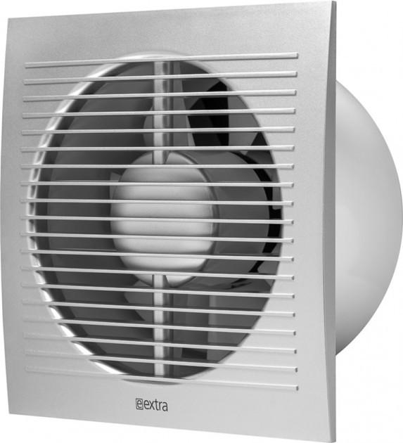 Вентилятор витяжний Extra E100 сірий