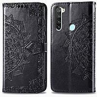 Кожаный чехол (книжка) Art Case с визитницей для Xiaomi Redmi Note 8