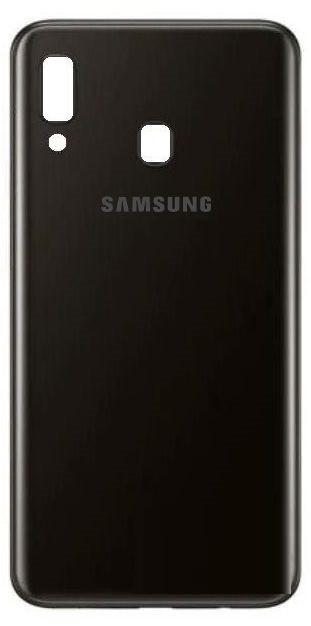 Задня кришка Samsung A205 Galaxy A20 (2019) чорна