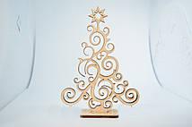 Вау! Рождественские украшения Ёлочка 12х16 см, на подставке 153