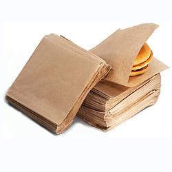 Уголок бумажный бурый (эко стиль) 160х170 500шт
