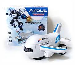 Робот самолёт Airbus Deformation, робот-трансформер
