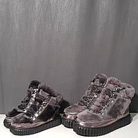 Ботинки меховые для девочки