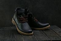 Ботинки подростковые Braxton 397 f черные (натуральная кожа, зима)