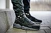 Женские кроссовки Nike Air Huarache Black Grey Найк Аир Хуарачи черные с серым, фото 3