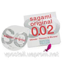 Самые тонкие в мире презервативы Sagami Original