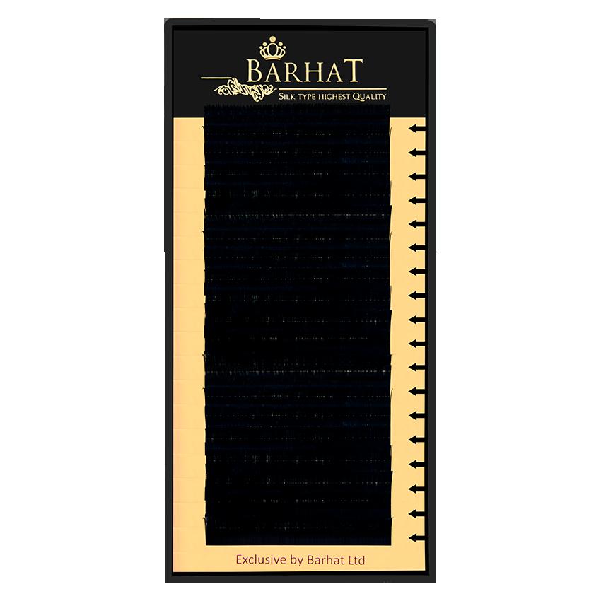 Ресницы для наращивания Barhat 0.07 С 8 мм