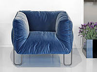 Кресло -Альпо-. Кресло для кафе, ресторана, кальянной на металличком каркасе., фото 1