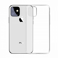 Чехол Baseus для Apple iPhone 11 Simplicity Series, Transparent (ARAPIPH61S-02)