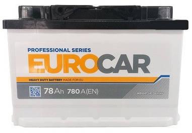 Автомобильный аккумулятор Eurocar 6СТ-78
