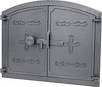 Чугунная дверка Klos 445x350