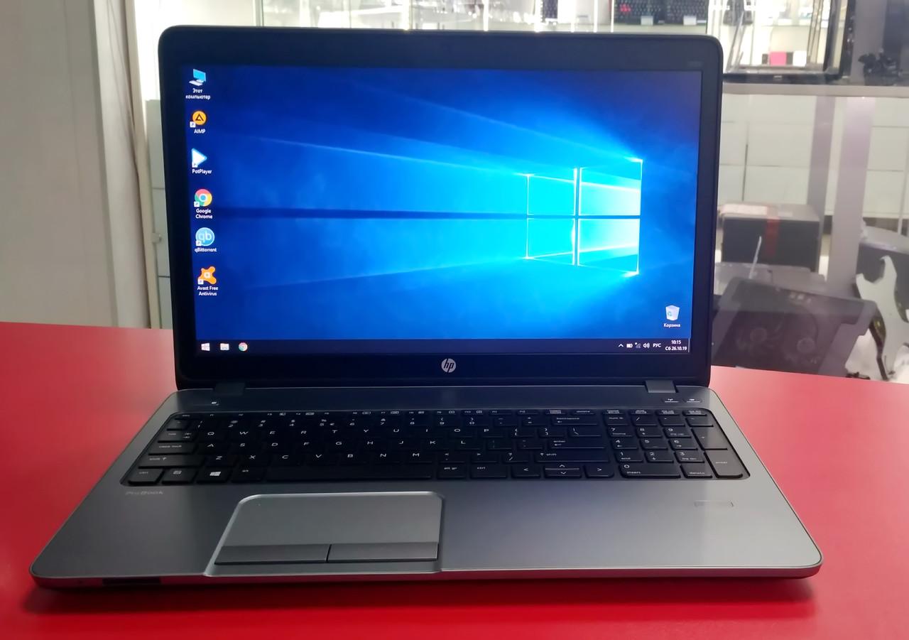 "Ноутбук HP ProBook 450 G0 15.6"" Intel Core i3 2.5 GHz 4 GB RAM 320 HDD Silver Б/У"