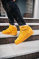 Мужские кроссовки Nike Air Force (на меху) \ Найк Аир Форс \ Чоловічі кросівки Найк Аір Форс