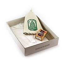 Подарочный набор для сауны Luxyart №8 Елка и подарки (3 предмета)
