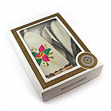 Подарочный набор для сауны женский Luxyart №1 Цветок (5 предметов), фото 2