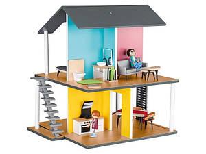 Деревянный кукольный домик с аксессуарами Playtive Junior