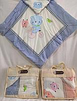 """Одеяло детское с капюшоном MILOR (2 цвета) """"HONEY"""" купить недорого от прямого поставщика"""