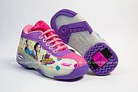 Кроссовки с роликом (heelys, хилисы) -  Luna Girls Led. Размеры: 29, 30, 31, 32, 33, 34, 35, 36