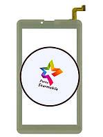 Сенсорный экран для планшета Nomi C07004 Sigma  Rev. 2 (104*184), белый (p/n:DP070023-F1 v1.0 )