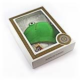 Подарочный набор для сауны женский Luxyart №5 Лягушка (3 предмета), фото 2