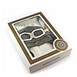 Подарочный набор для сауны мужской Luxyart  №10 Летчик (3 предмета), фото 2