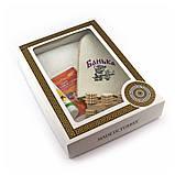 Подарочный набор для сауны мужской Luxyart №13 Банька (5 предметов), фото 2