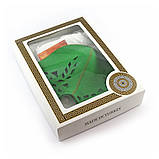 Подарочный набор для сауны Luxyart №7 Зайка зеленая (3 предмета), фото 2