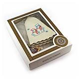 Подарочный набор для сауны Luxyart №8 Снеговики (3 предмета), фото 2