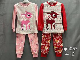 Детские пижамы для девочки Оленята. Венгрия. 4-12 лет.