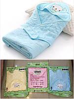 """Ковдра дитяча тепла з каптуром для новонароджених (3 кольори) """"HONEY"""" купити недорого від прямого постачальника"""