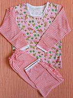 Пижамы детские на байке на девочек хлопок Украина. Размер от 26 по 34.От 5шт по 62грн
