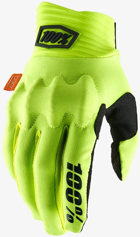 Мото перчатки Ride 100% COGNITO 100% Glove [Fluo Yellow/Black], S (8)