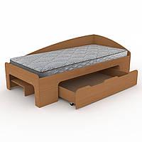 Кровать 90+1 Компанит Бук new1-164, КОД: 997183