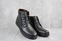 Ботинки мужские Bonis 5682 34/14/19 черные (натуральная кожа, зима)