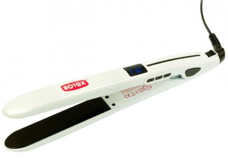 Вирівнювач волосся ROTEX RHC350-C LuxLine