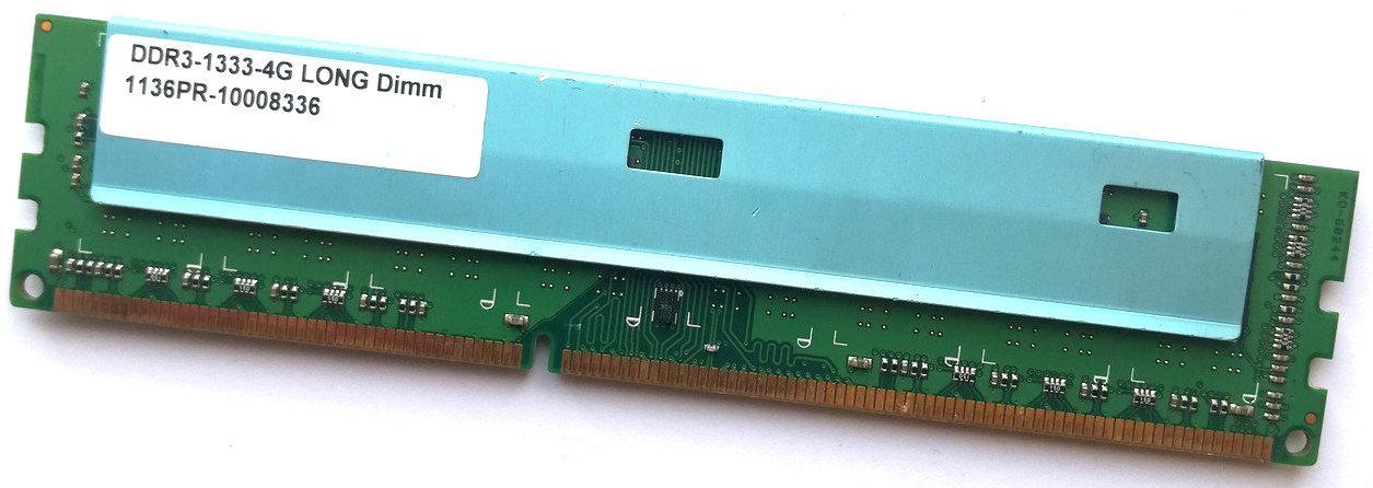 Игровая оперативная память LONG DDR3 4Gb 1333MHz PC3 10600U CL9 (1136PR-10008336) Б/У